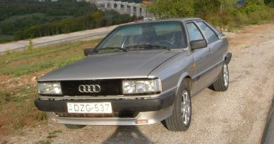 Audi Coupe GT 5E B2 1984 - Horvátország