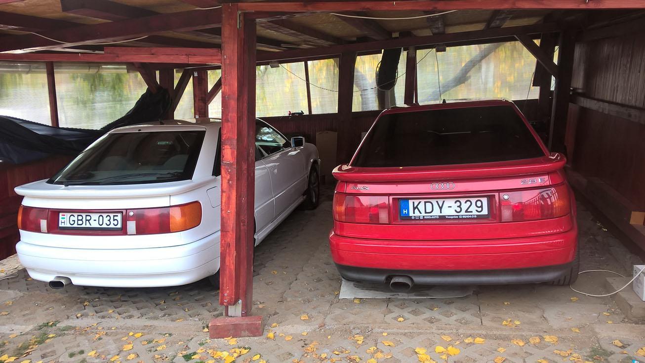 Audi Coupe B3 1990